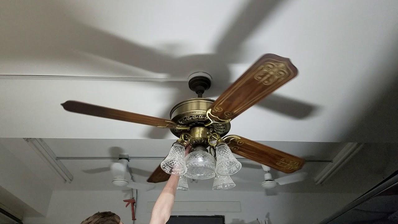 Casablanca Victorian Ceiling Fan Youtube