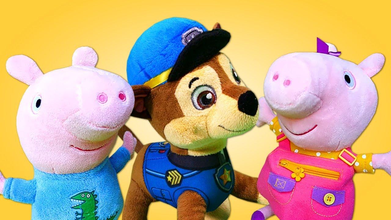 Видео для малышей: Щенячий патруль спасает игрушки из ...