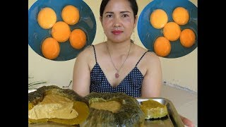 Pretty Girl Show How To do Pumpkin dessert  Recipe New   Village Food Factory