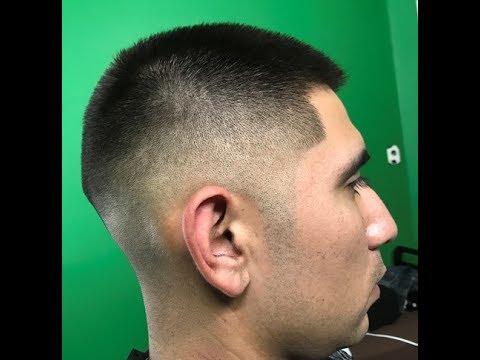 How To Cut A Medium Fade Mens Haircut Tutorial Youtube