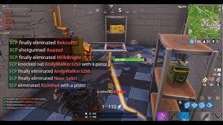 THE CRAZIEST SQUAD WIPE!! (Fortnite Battle Royale Highlights #1)