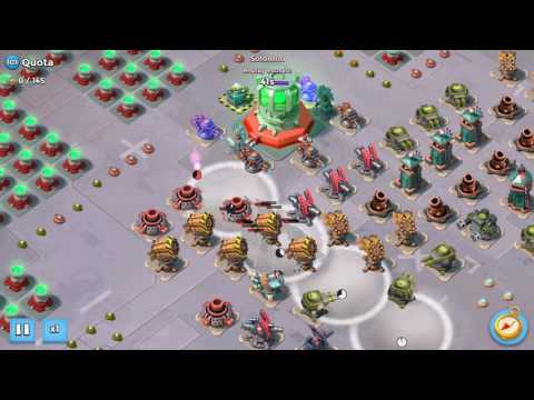 Boom Beach - Quota 145 - Zooka Solo