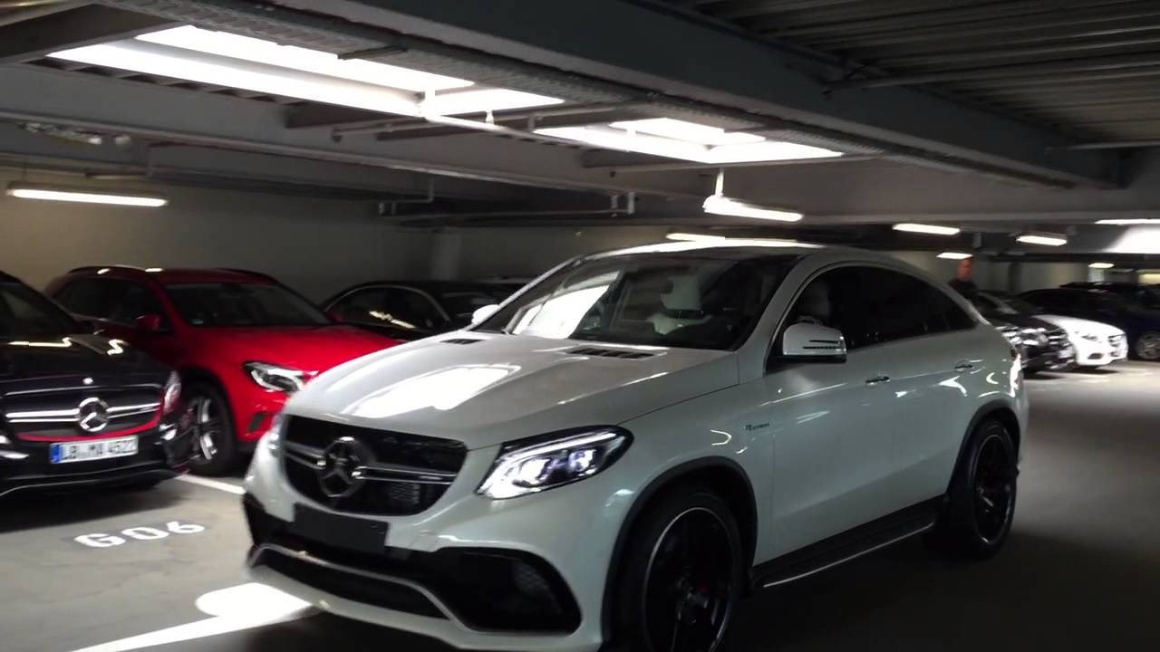 mercedes amg 63 s gle coupé 2016/2017 - youtube