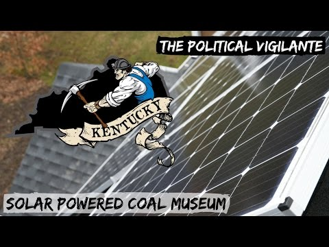 When A Coal Museum Installs Solar Panels — The Political Vigilante