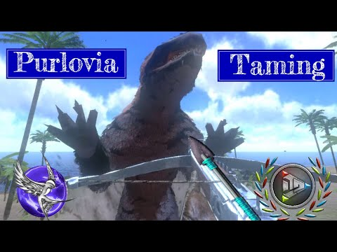 NEW PURLOVIA TAMING!!! | [S1E11] | Ark Survival Evolved Mobile