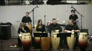 UD Latin Percussion Ensemble - Chart