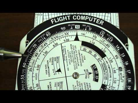 E6B Flight Computer: Rate of Fuel Consumption