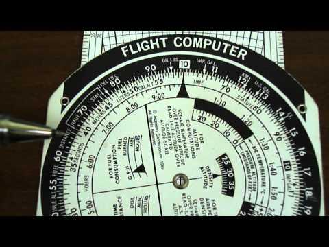 E6B Flight Computer: Rate of Fuel Consumption