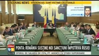 Ponta vrea reducerea taxei pe constructii speciale la 1%