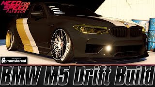 Need For Speed Payback: BMW M5 Drift Build | Blackridge Royals | Speed Art | Driving The Incredible