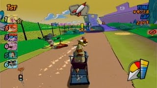 Cartoon Network Racing - Cow & Chicken Race [PS2]