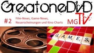 GreatoneDVD MG TV #2 (Die Show über Filme, Spiele und Mehr) (Deutsch/German) (02.02.13)