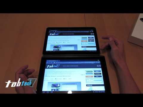 Samsung Galaxy Tab 10.1v vs. Acer Iconia Tab A500 - Deutsch (HD)
