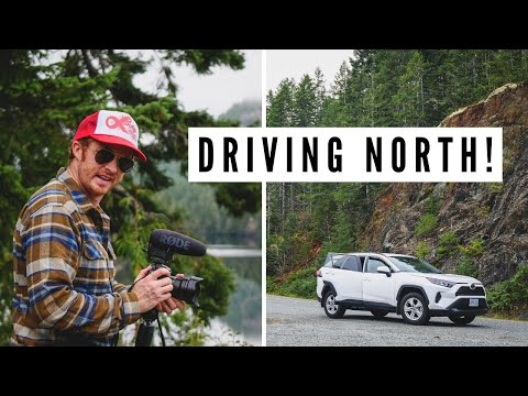 Northern VANCOUVER ISLAND travel vlog | Driving to PORT ALICE, BC
