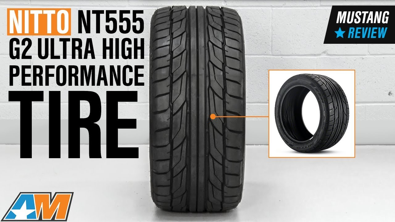 1979-2018 Mustang NITTO NT555 G2 Ultra High Performance Tire (17