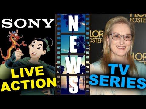 Sony Live Action Mulan, Meryl Streep & JJ Abrams The Nix TV Series