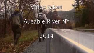 ausable river trout fishing ny 2014