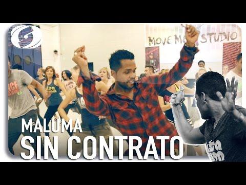 MALUMA - SIN CONTRATO - Salsation choreography by Alejandro Angulo