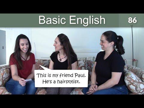 Lesson 86 👩🏫 Basic English with Jennifer 💵 Jobs & Money - 동영상