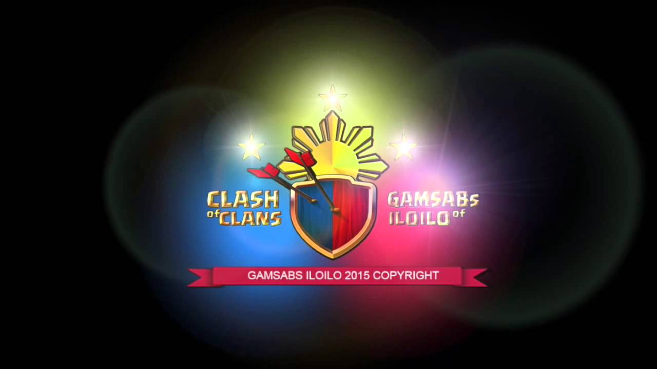 Gamsabs Clash Of Clans Logo Youtube