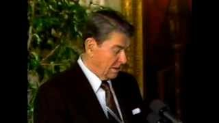 1989 - President Ronald Reagan's Last Day in Office