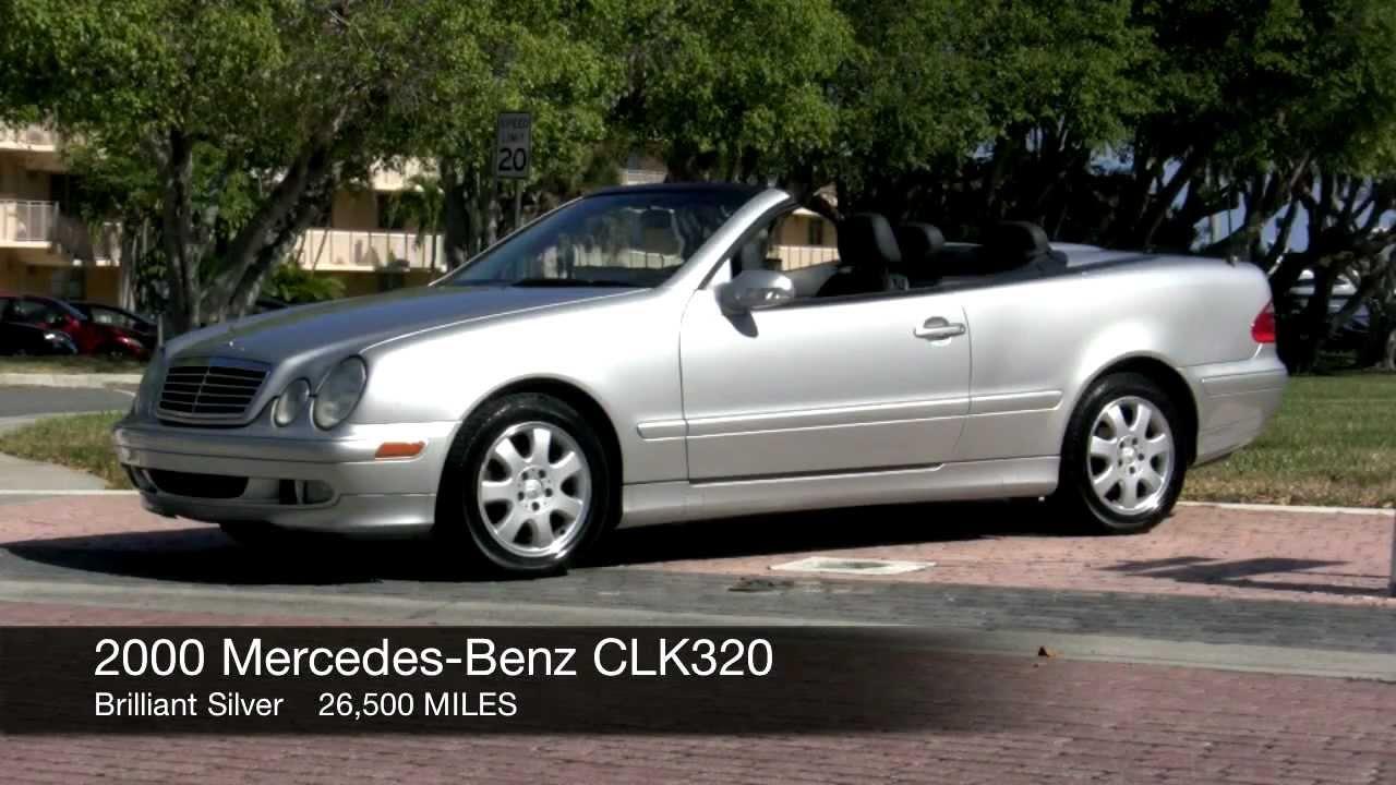 2000 mercedes-benz clk320 brilliant silver a2713 - youtube