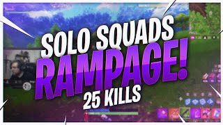 TSM Kraftyy - SOLO SQUADS RAMPAGE! 25 KILL WIN (Fortnite BR Full Match)
