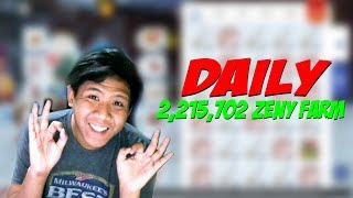DAILY 2,215,702 ZENY FARMING TIPS (BS/WS) | RAGNAROK MOBILE SEA