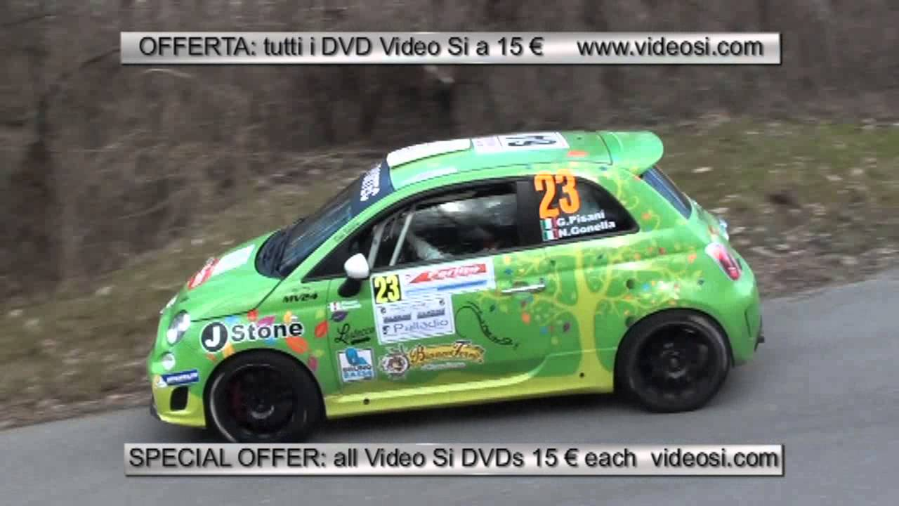 Pisani Gonnella Su Fiat 500 Abarth R3t Rally Il Ciocco 2016 Video Si