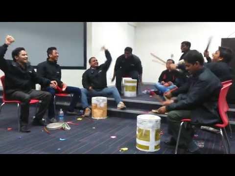 Team  Helix  Amazing Street Druming performance