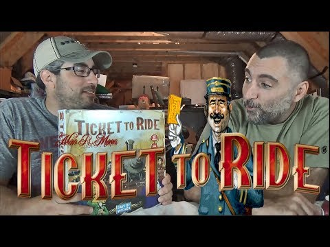 Ticket to Ride: (Rules & Playthrough)