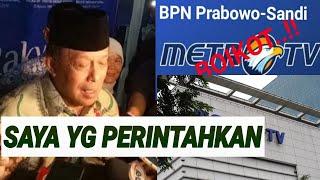 Download Video DJOKO SANTOSO PASANG BADAN BOIKOT METRO TV;WAKTUNYA TIDAK DITENTUKAN MP3 3GP MP4