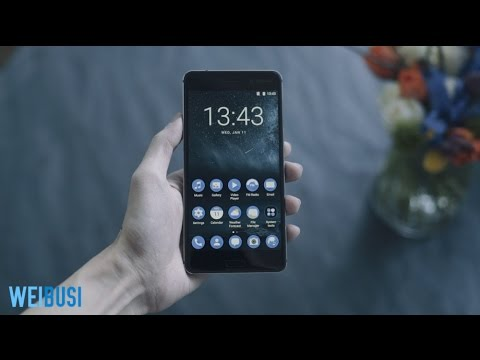 Nokia 6 媒体见面会现场上手视频(Nokia 6 Beijing Media Event hands on)「WEIBUSI出品」