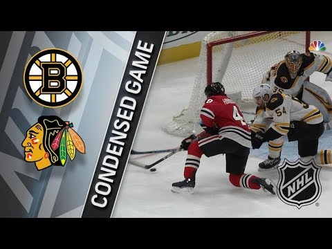 Boston Bruins vs Chicago Blackhawks – Mar. 11, 2018 | Game Highlights | NHL 2017/18. Обзор