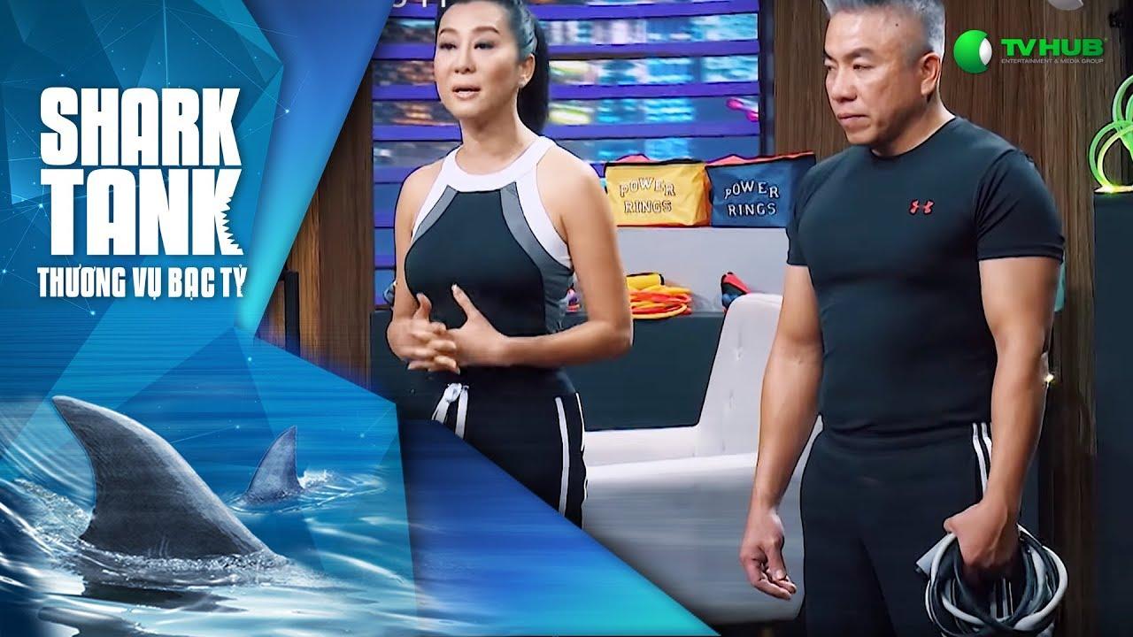 Nửa Triệu USD Cho… Dây Cao Su Tập Thể Thao - Power Ring | Shark Tank Việt Nam