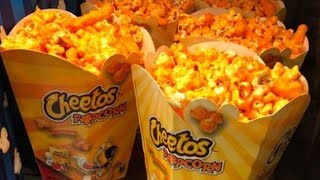 Cheetos Popcorn Is Coming To Movie Theaters