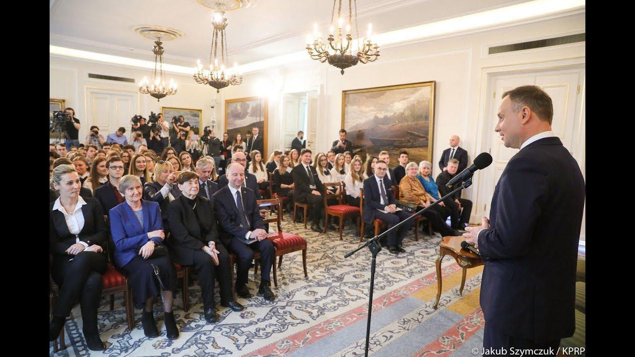 Wystąpienie Prezydenta podczas Lekcji RP