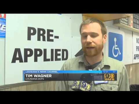 DSNAP benefits start in Louisiana