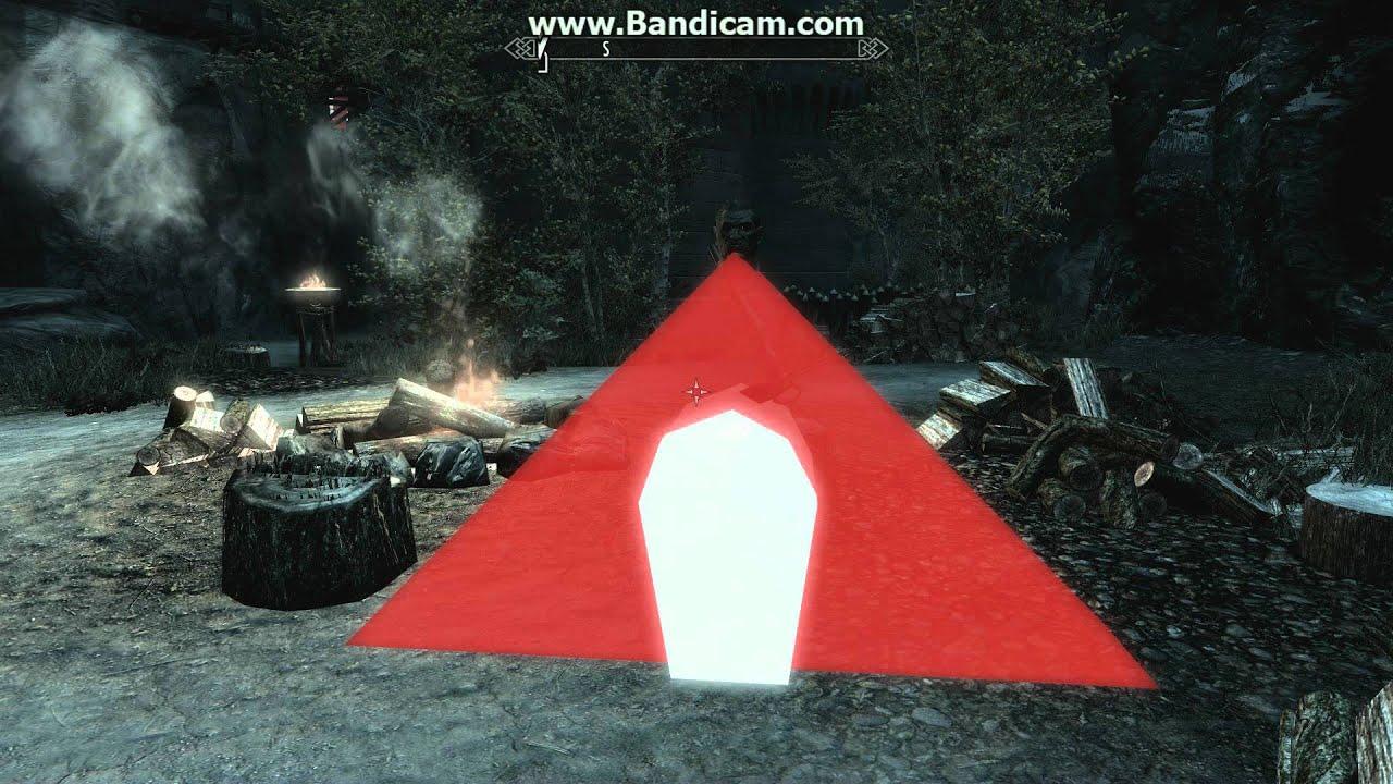 skyrim red triangle fix