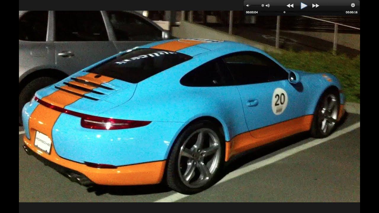Gulf-coloured 991 Porsche 911 | JustDrive There