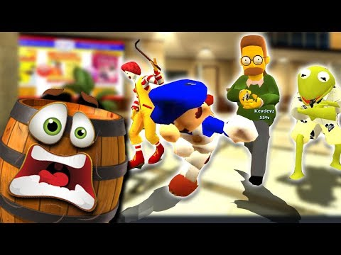 10 Nintendo Youtubers play Prop Hunt ft. Nathaniel Bandy, Si