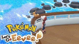 LUKSUSOWY REJS PEŁEN WYZWAŃ - Pokemon Let's Go Eevee #7 [PO POLSKU]