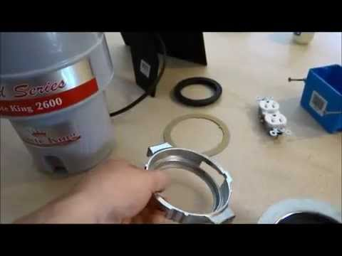 garbage disposal waste king 1 2 hp easy install