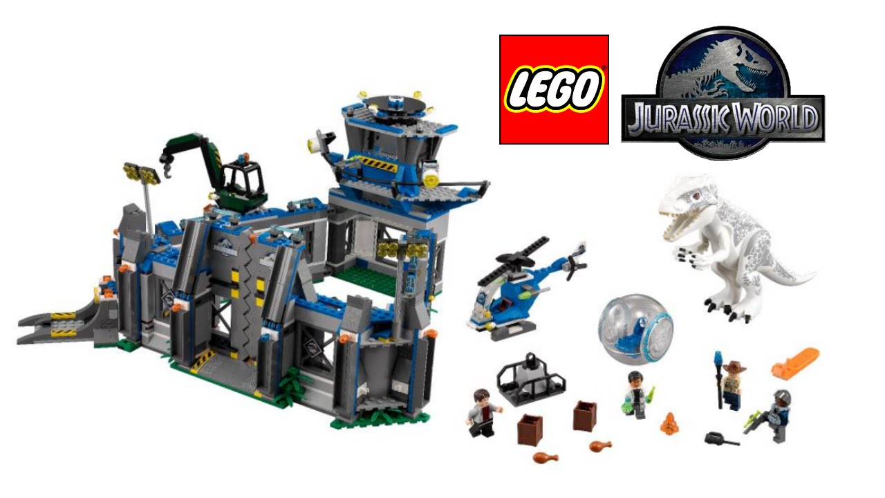 lego jurassic world 2015 sets pictures revealed youtube - Lego Jurassic Park Coloring Pages