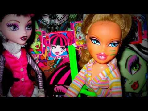 Куклы Клодин и Катрин из серии Кораблекрушение, Монстер Хай