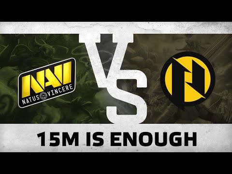 15m is enough! - Na`Vi vs PRIES @ BTS Europe #1