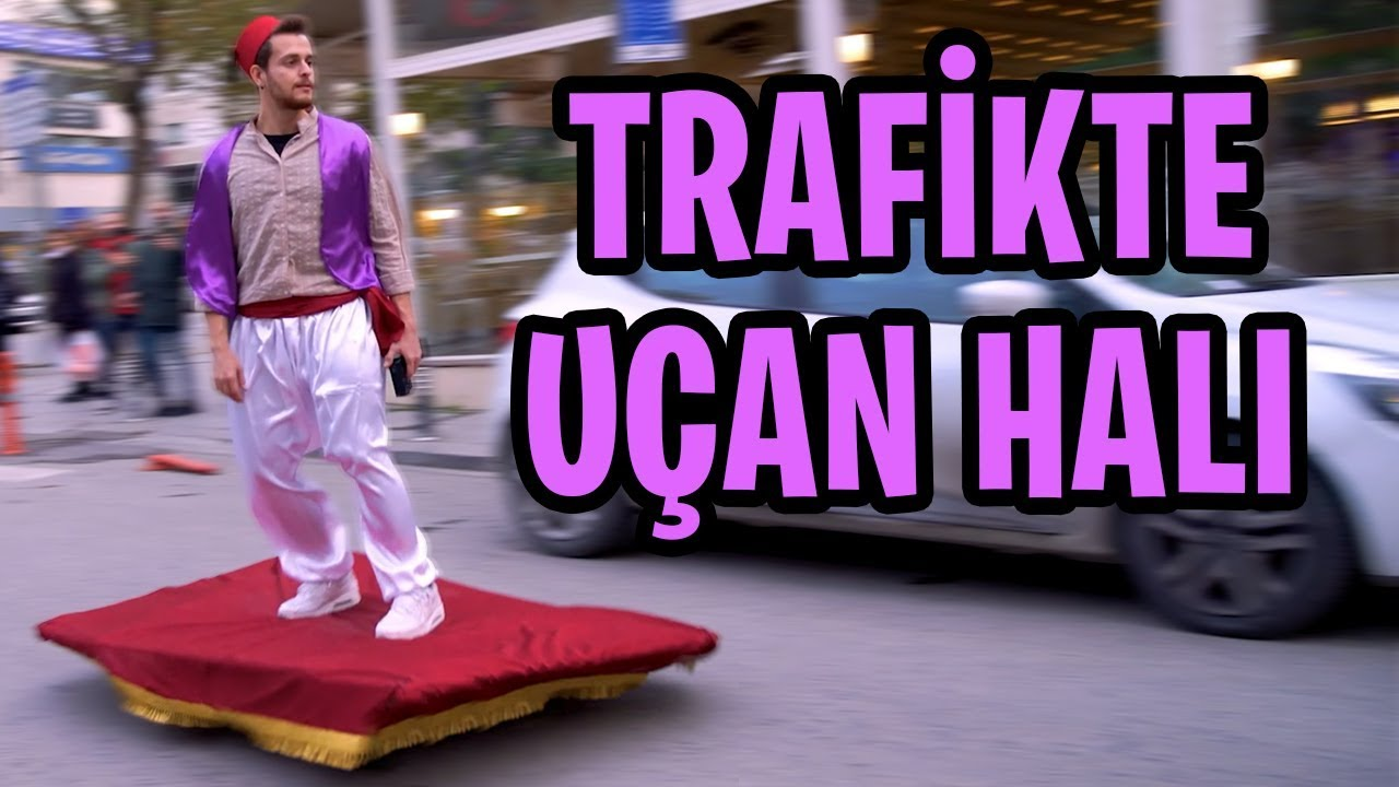 UÇAN HALI YAPTIM! -İstanbul'da Gezdim