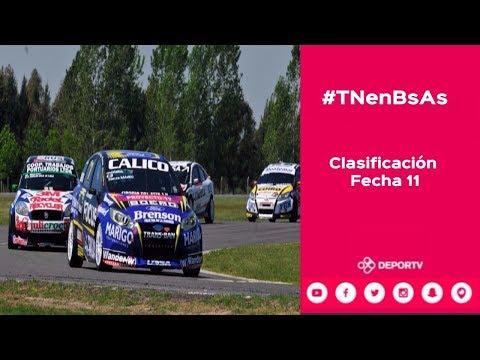 #TNenBsAs - Clasificación Turismo Nacional - Fecha 11