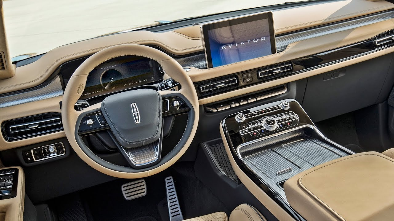 2019 Lincoln Aviator Interior Youtube