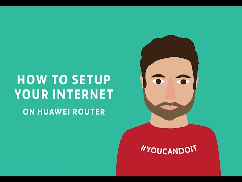 How To Set Up Internet On Your Huawei Router